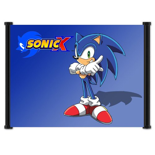Sonic X Anime Fabric Wall Scroll Poster  Inches -Sonic X-12