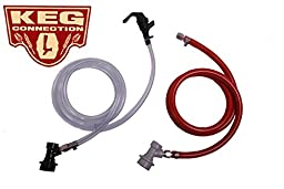 Liquid & Gas Assembly, Ball Lock by Kegconnection