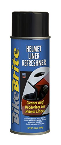 Bike Brite MC19000 Cleaner/Deodorizer, 14 fl. oz. (for Helmet Liners)