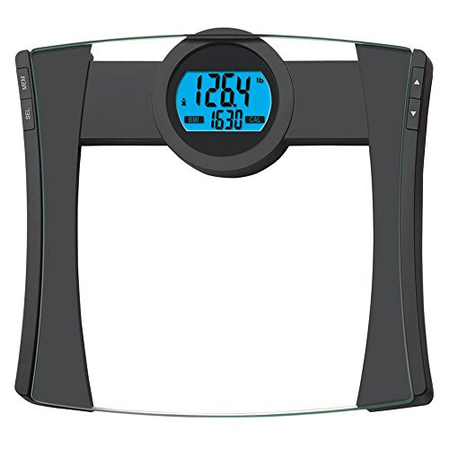 (EatSmart Precision CalPal Digtal Bathroom Scale with BMI and Calorie Intake, 440 Pound Capacity)