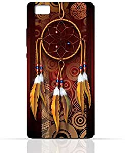 Huawei P8 Silicone Case with American Feathers