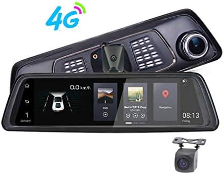 SZKJ V9 - Espejo retrovisor de 10 Pulgadas, Pantalla Completa 4G ...