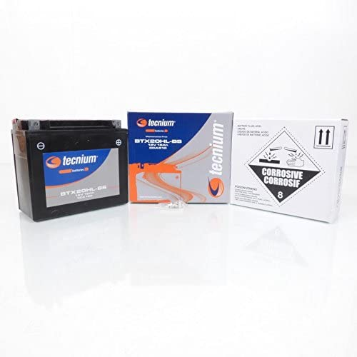 Batterie Tecnium pour Moto Harley Davidson 1690 Fls Softail Slim 2012 /à 2015 YTX20HL-BS 12V 18Ah Neuf