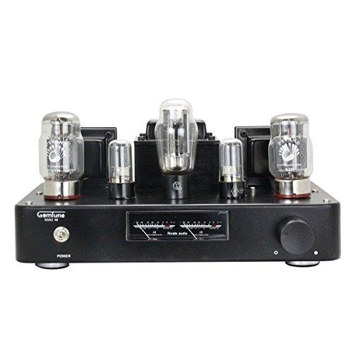 Gemtune Gs 02M Hi Fi Integrated Tube Amplifier W  Vu Level Meter Tube Kt88x2  6H8cx2  5Z3px1