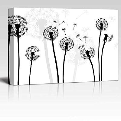 Black and White Style Dandelion, Premium Product, Amazing Object of Art