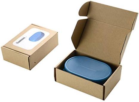 Samno Cici Una Caja de jabón, una Caja de jabón al Aire Libre, una Caja de jabón de Viaje.Blue(2pack): Amazon.es: Belleza