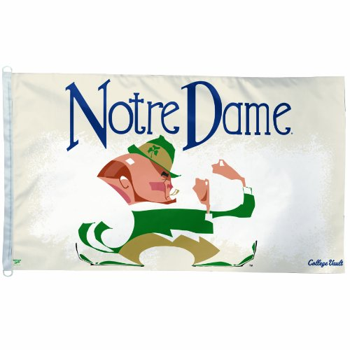 NCAA College Vault Notre Dame Fighting Irish 3-By-5 Foot Fla