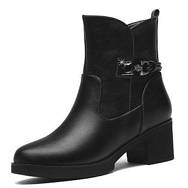 AIURBAG Femme Chaussures Synthétique Automne Hiver Bottes à la Mode Botillons boîtes de Combat Bottes Bottine/Demi Botte Pour Habillé Soirée &