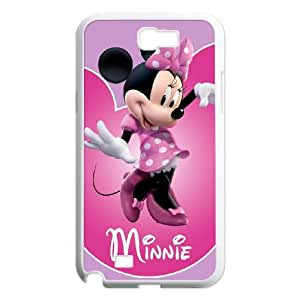 Minnie Mouse Samsung Galaxy N2 7100 Cell Phone Case White Delicate gift JIS_424585