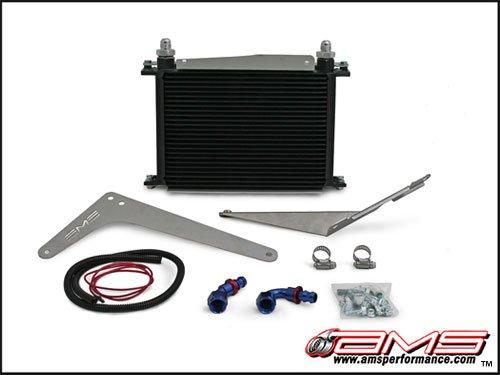 AMS SST Transmission Cooler Kit for 2008-15 Mitsubishi Evo X 10 / Ralliart (Evo Oil Cooler)