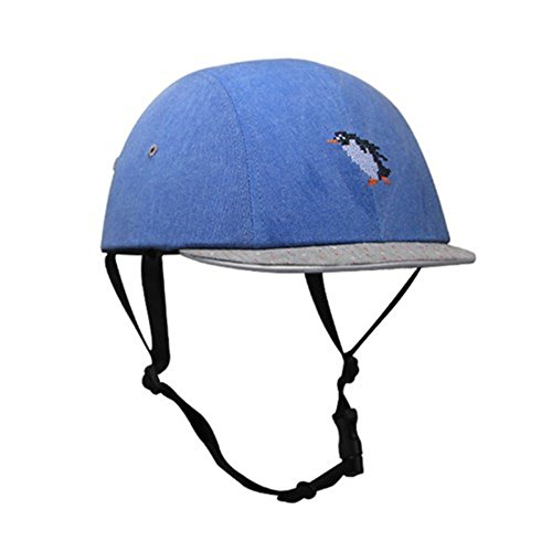 Skateboard Bicycle Bike Cycling Skiing Outdoor Sports Protective Equipment headgear Abs Cork Inner Shell Helmet Penguin needlework
