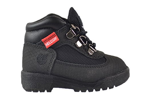 Timberland Field Baby Toddlers Helcor Boots Black 3381r (8.5 M US) (Timberland Scuff Proof For Kids)