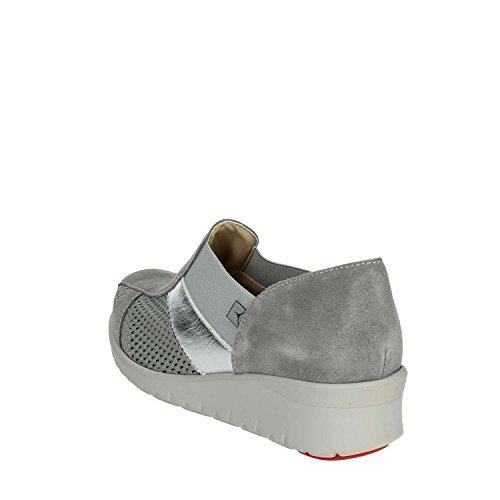 Donne Ie9804l 004 Cinzia Grigio Basse Sneakers Morbido XnqB1C