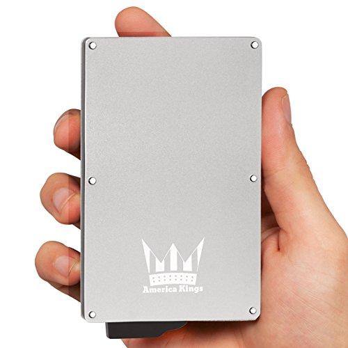 Blocking Wallet America Kings Aluminum