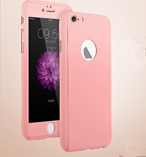 Amazon.com - iPhone 6 Plus/6s Plus Full Body Hard Case-Aurora Pink ...