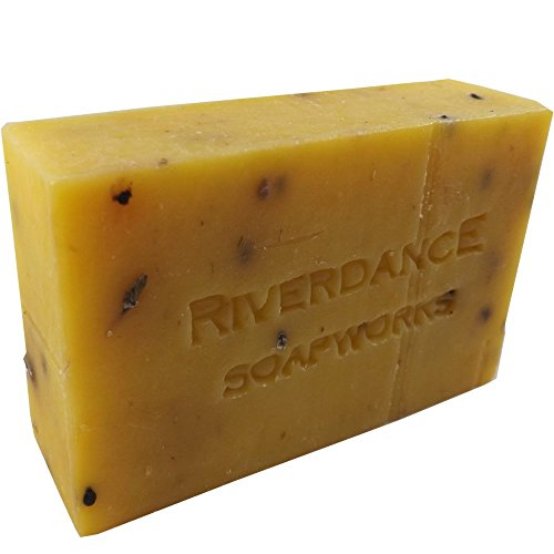 Natural Bar Soap Rise and Shine Scented - Local Handcrafted - With Lemongrass Essential Oil - - Soap Scented Bar Soapworks