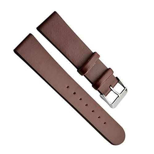 18mm-mens-genuine-leather-silver-buckle-watch-strap-watch-band-paint-edge-brown