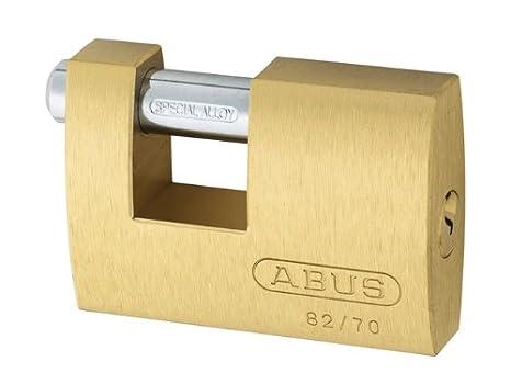 ABUS H30 11491 Cadenas dhaute s/écurit/é monoblocs 82//70