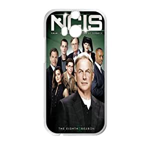 Personlised Rubber Phone Case Ncis For HTC One M8 NC1Q02209