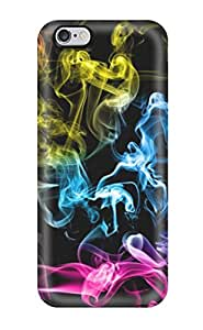Hot Smoke Colors Tpu Case Cover Compatible With Iphone 6 Plus by Maris's Diary