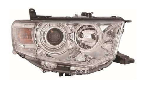 L200 2010-2016 Chrome Front Headlight Headlamp O//S Drivers Right