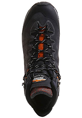 Meindl Zapatos de Senderismo Hombre gris/naranja