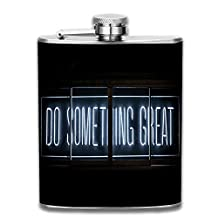 Hip Flasks Pocket Flask Modern,Sophisticated,Discreet Alcohol Flask Set Sleek Canteens That Hold Whiskey,Rum,Scotch,Vodka