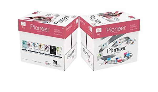 PIONEER - Papel premium para impresora 5000 folios 80 g/m2 ...