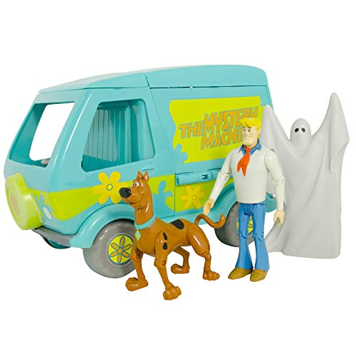 Scooby Doo SCD60663 Toy Playset with Action Figures, Multicolor ()