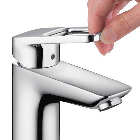 Hansgrohe Logis Loop, Single-Hole Lavatory Faucet (Chrome) 04577000