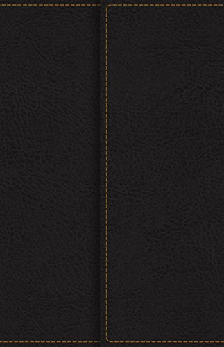 KJV, Reference Bible, Compact, Large Print, Snapflap Leather-Look, Black, Red Letter Edition, Comfort Print: Holy Bible, King James Version Compact Reference Bible Kjv Snap