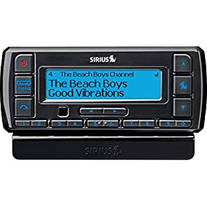 SiriusXM-SSV7V1 Stratus 7 Satellite Radio with Vehicle Kit- Black with Free 3 Months Satellite and Streaming Service