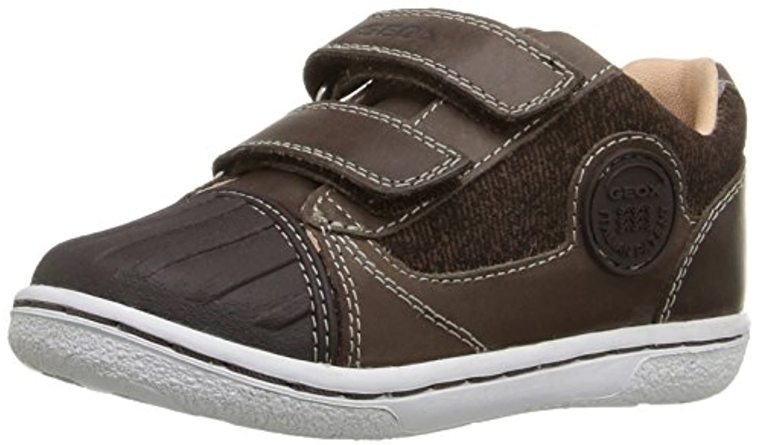 Geox Baby Boys' B Flick B Walking Shoes, Blau (NAVYC4002), 20 UK