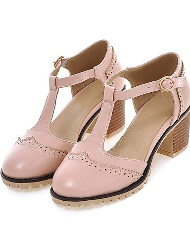 LFNLYX Zapatos de mujer-Tacón Robusto-Cuñas / Comfort / Innovador / Botas a la Moda / Zapatos y Bolsos a Juego / Zapatillas-Pantuflas / Black