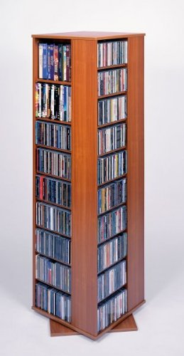 High Capacity Spinning Multimedia Tower Cherry