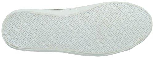 Puma Elsu Synthetic Leather - Zapatillas de gimnasia, unisex Azul (Peacoat-White 3)