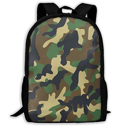 Lawenp Sac à Dos Unisexe Adulte imperméable Camouflage Tactique de Jungle nCombinaison de Camouflage, Motif de… 1