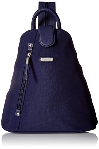 - Baggallini Metro Backpack with RFID Phone Wristlet, navy