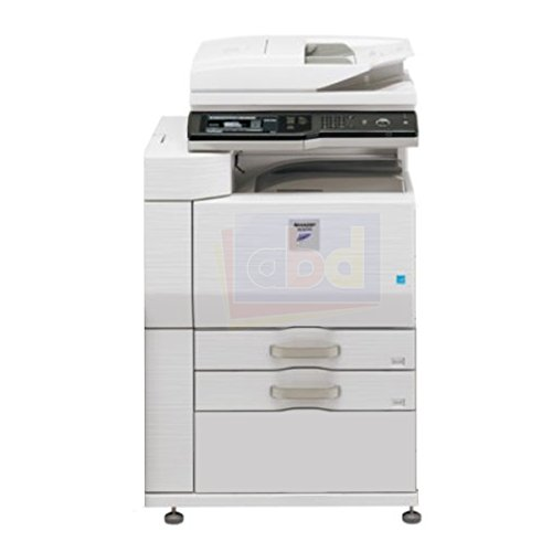 Refurbished Sharp MX-M623 Tabloid-size Monochrome Multifunction Printer - Copy, Print, Scan, Document Filing, 2 Trays, Cabinet, Auto Duplex, 8.5