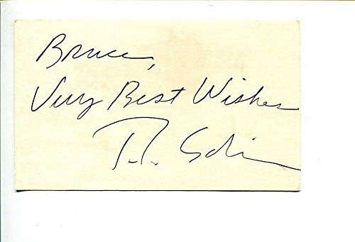T.L. Solien Famous Satirical Macabre Painter Artist Signed Autograph from HollywoodMemorabilia