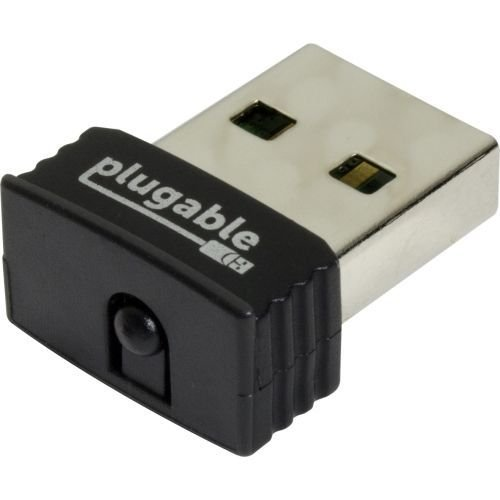 Plugable USB 2 0 Wireless N 802 11n 150 Mbps Nano WiFi Network Adapter  (Realtek RTL8188EUS Chipset) Plug and Play for Windows, Driver for Mac