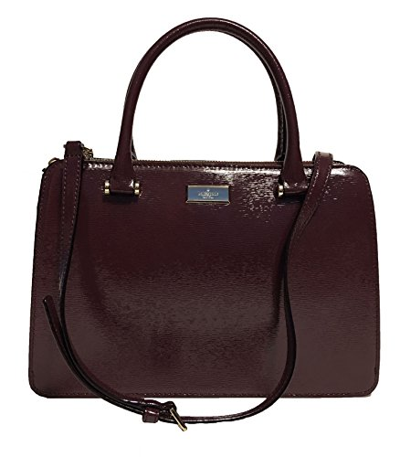 Kate Spade New York Lise Mulberry Street Shoulderbag Handbag (Mahogany Patent) by Kate Spade New York