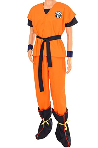 [Cosplaybar Costume Dragon ball Z Son Goku Yamcha Turtle with Boots Cover B Tailor Made] (Bulma Costume)
