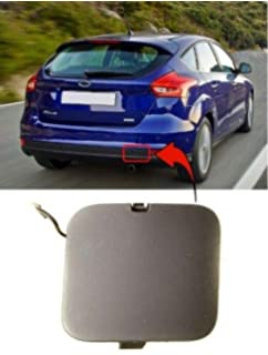 Car Rear Bumper Tow Hook Cover Cap Replacement for Ford Focus Sedan 2005-2008 4M51-17K922-BA
