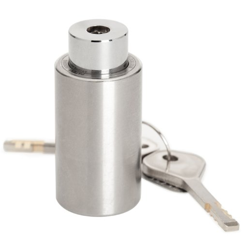 TiGr Lock Cylinder Compatible with All Mini, Mini+ and Bow-Lock variants, Strong and Light Easy to Carry Bike Security