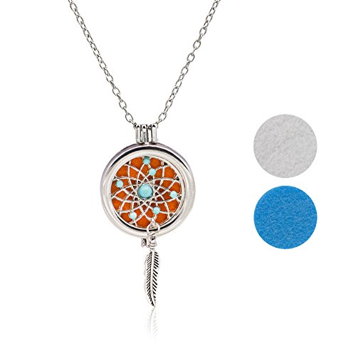 Boosic Aromatherapy Essential Diffuser Necklace