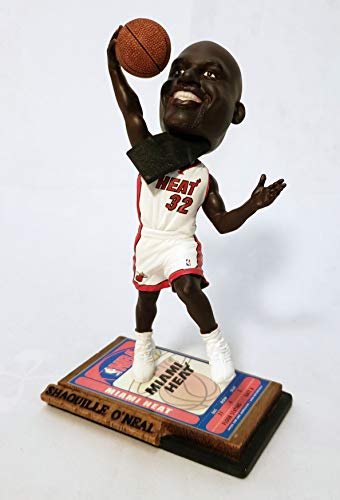 Shaquille O'Neal Miami Heat Limited Edition Ticket Bobblehead ()