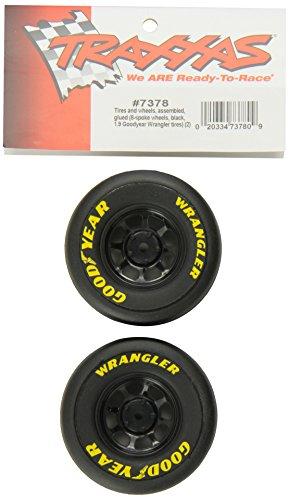(Traxxas 7378 1.9 Goodyear Wrangler Tires on Wheels, 1/16 On Road)