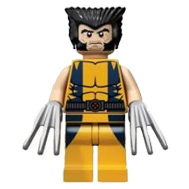 LEGO Super Heroes: Wolverine Minifigure