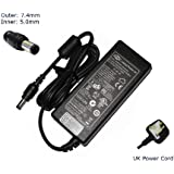 """Laptop Charger for HP Probook 4320S 4520S 4720S Adapter Power Supply - """"Laptop Power"""" (TM) Branded (Inc 12 Month Warranty and UK Power Cord)"""
